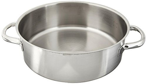 Paderno Stainless Steel 9 Quart Rondeau Pot by Paderno