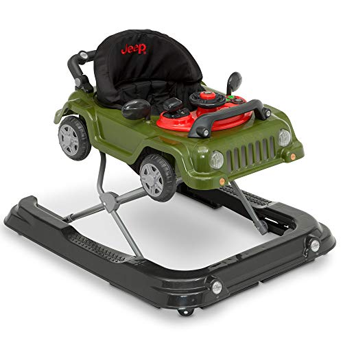Jeep Classic Wrangler 3-in-1 Grow with Me Walker, Anniversary Green - Infant Walker