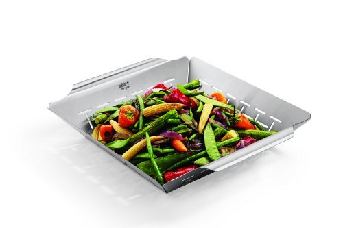 Weber Style 6434 Professional-Grade Vegetable Basket