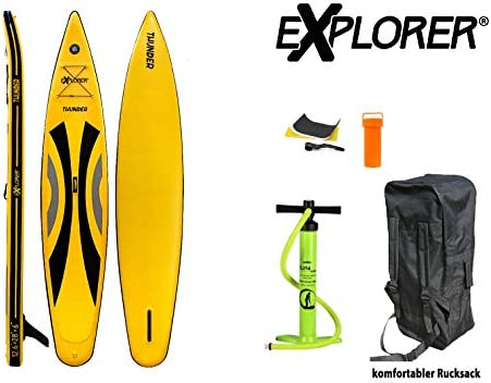 EXPLORER Sup Thunder 380 x 71 x 15 cm - ISUP Hinchable Tabla de ...