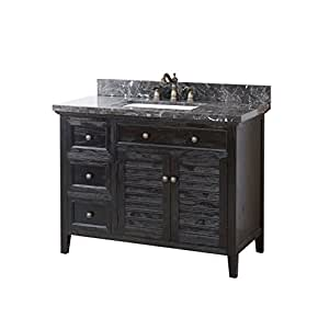 Crawford and burke b4a cornelia vanity wood base marble - Crawford and burke bathroom vanity ...