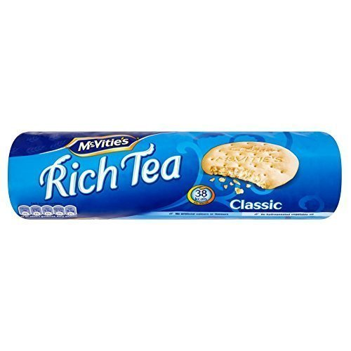 Tea Time Biscuits - McVitie's Rich Tea Biscuits, 300 Gram (Pack of 6)