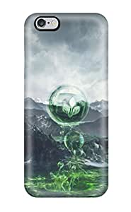 Hot Unique Design Iphone 6 Plus Durable Tpu Case Cover Desktop Artwork