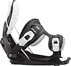 Easy, user-friendly and trusted for years, the Alpha Snowboard Bindings from Flow offers a soft flex and dual-entry system for convenience. The Alpha Charcoal & White Snowboard Bindings feature Flow's claim to fame - a dual-entry system i...