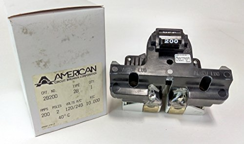 2B200 - 200 AMP FEDERAL PACIFIC MAIN BREAKER by American Packing & Gasket