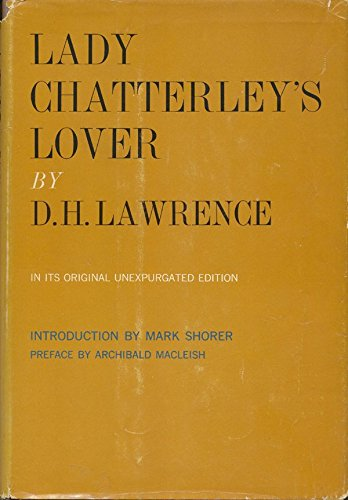 Unexpurgated lady chatterleys lover