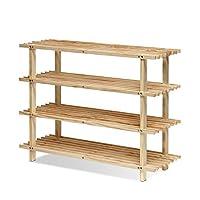 Furinno FNCJ-33040N Alder Pine Solid Wood