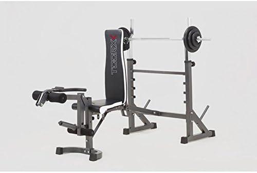 Toorx-Banco de musculación-Adaptador de disco de extensión para piernas pack_wbx-90: Amazon.es: Deportes y aire libre