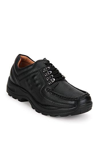 Action Shoes Men's Black Sneakers – 8 UK (42EU) (DCE-122)