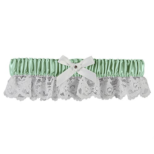Ivy Lane Design 20-2019-0029 Lily Garter with White (Sage Lilies)