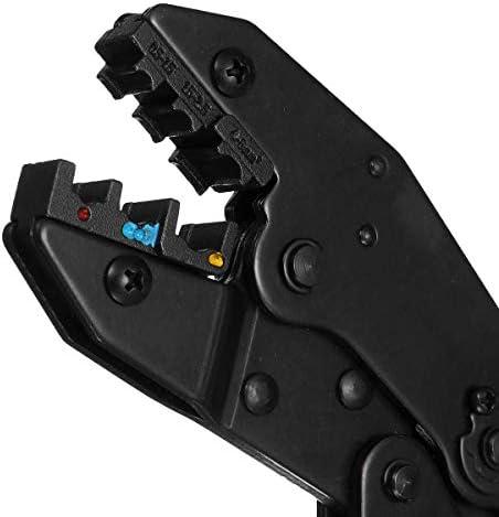 SSY-YU 1-Wire圧着プライヤー電気端子プライヤーツールキット・アイプライヤーツールのラチェットクリンパーケーブル4 ペンチ 切断工具