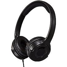 Auriculares de diadema AmazonBasics Intrauriculares Paquete de 10 Negro