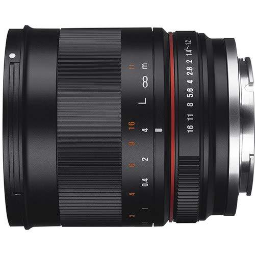 Rokinon RK50M-E 50mm F1.2 AS UMC High Speed Lens for Sony (Black)