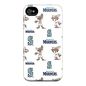 Great Cell-phone Hard Cover For Iphone 6plus With Customized Attractive Seattle Mariners Skin JasonPelletier