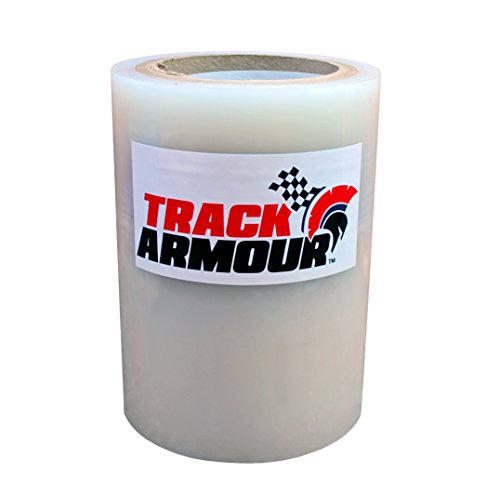 - TRACK ARMOUR TA6X100-6'' x 100' - Temporary Track Day Paint Protection Clear Adhesive Film for Car
