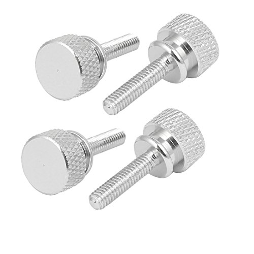 uxcell uxcellComputer PC Case M4x16mm Shoulder Type Knurled Thumb Screw Fushcia 4pcs