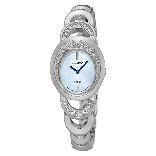 (Seiko Women's 'Jewelry' Quartz Stainless Steel Dress Watch (Model: SUP295))
