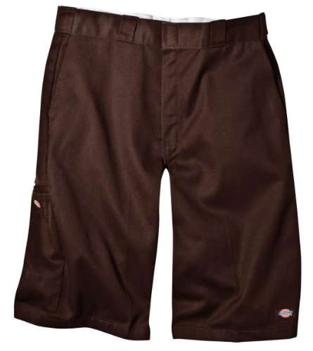 Dickies Men's 13 Inch Loose Fit Multi-Pocket Work Short, Dar