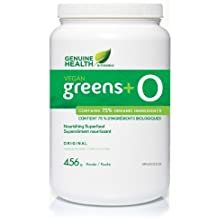 Genuine Health Vegan Greens+ O unflavored 456g