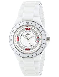 Breytenbach Women's BB9950W Classic Analog Enamel Bezel Watch