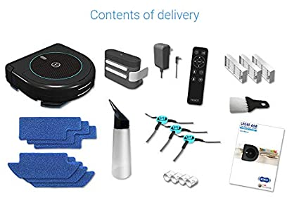 Amazon.com: HOBOT LEGEE-668 Vacuum-Mop 4 in 1 Robot for Floor, Automatic Robot for Wet or Dry Floor Cleaning: Health & Personal Care