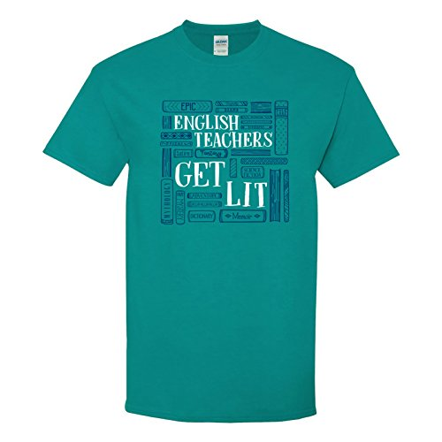 UGP Campus Apparel English Teachers Get Lit - Funny, used for sale  Delivered anywhere in USA