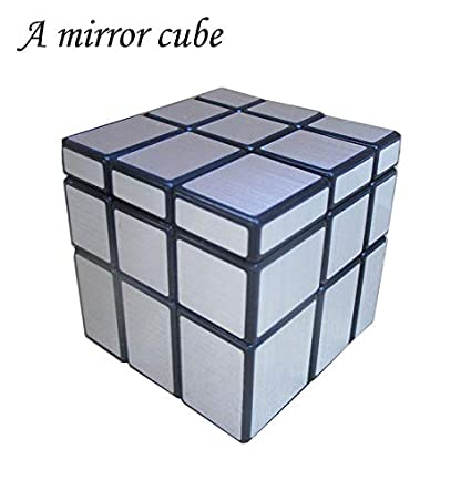 Atuno Cubes, A Mirror Cube, The Solid Core Structure, A Mirror Puzzle (Silver).