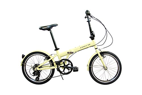 Alton Corsa Clover Aluminum Folding Bike, Cream, One Size For Sale