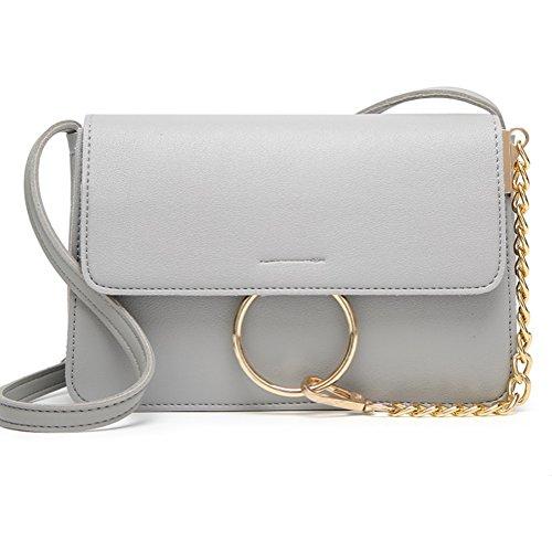 Ms.ショルダーバッグPUメッセンジャーバッグ電話小さな正方形の袋ファッションカジュアルバッグZYXCC