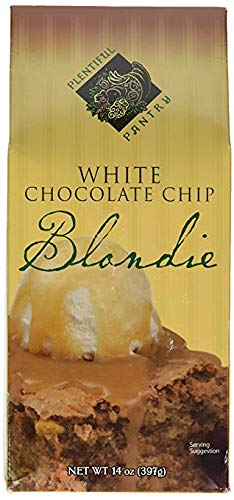 Plentiful Pantry White Chocolate Chip Blondie Mix, 16 Ounce - White Brownie