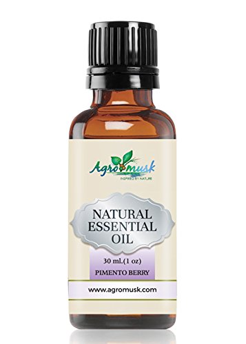 Pimento Berry Essential Oil Pure Therapeutic Grade 30ml By Agromusk