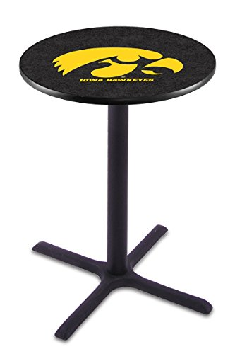Holland Bar Stool L211B University Of Iowa Officially Licensed Pub Table, 28