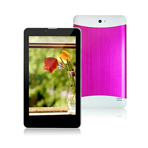 Haehne 7 Inch Android 4.4 Google Tablet PC Phablet, 2G GSM 3G WCDMA Dual SIM Dual Standby Mobile Cellphone Dual...
