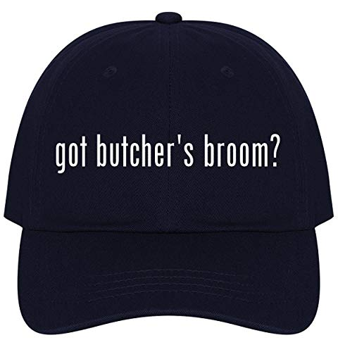 (The Town Butler got Butcher's Broom? - A Nice Comfortable Adjustable Dad Hat Cap, Navy)