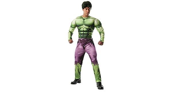 Disfraz de Hulk Marvel deluxe para adulto: Amazon.es: Juguetes y ...