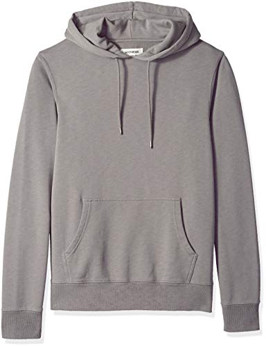 Goodthreads Men's Pullover Fleece Hoodie, Grey Castlerock, Large Tall