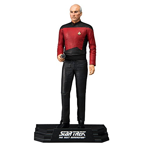 McFarlane Toys Star Trek Captain Jean-Luc Picard Collectible Action Figure from McFarlane
