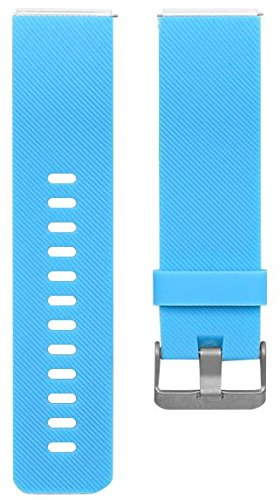 Newest Fitbit Blaze Band, BeneStellar Silicone Replacement Small Large Band Bracelet Strap for Fitbit Blaze Smart Fitness Watch, Sky Blue, Small