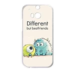 Happy Monsters, Inc. Cell Phone Case for HTC One M8