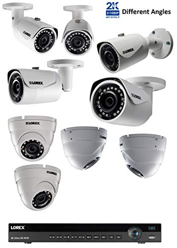 Lorex 16 Channel 4k Nvr 8 Ip Cameras Security System