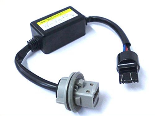 Filtro Portalampada Resistenza T20 W21/5W 3157 7443 Led Warning Canceller No Errore Luci Frecce Retromarcia