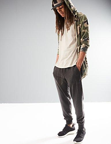 Rebel Canyon Young Men's Slim Fit Basic Front Pocket Drawstring Jogger Sweatpant