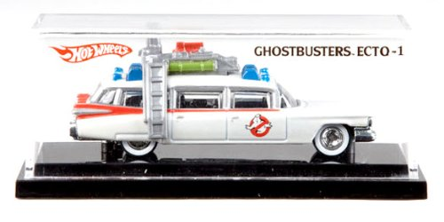 Mattel Hot Wheels 1:64 Scale Ghostbusters Ecto-1 Die Cast SDCC 2010 Exclusive