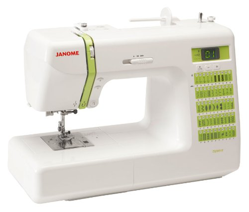 Janome dc2012 decor computerized sewing machine with 50 for Best home decor sewing machine