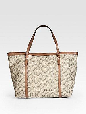0eaadfa19eba8 Gucci Nice GG Supreme Canvas Tote  Amazon.co.uk  Luggage