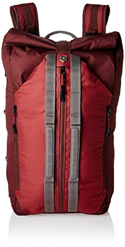 (Victorinox Altmont Active Deluxe Duffel Laptop Backpack, Burgundy, One Size)