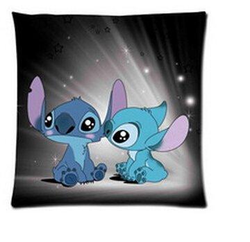 Stitch Lilo Animated (Animated Film&lilo&stitch Background Pillow Cases Design Pillowcase Pillow Sham 18