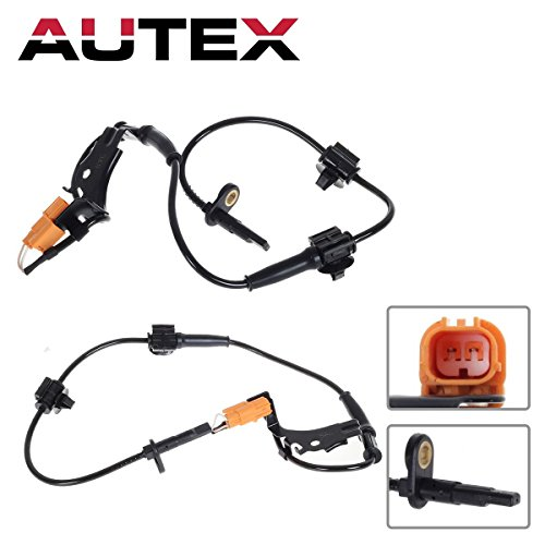 AUTEX 2PCS ABS Wheel Speed Sensor Front Left & Right 57455-S9A-013 970-357 084-4333 2ABS0202 1802-400222 5S7536 compatible with Honda CR-V 2002 2003 2004 2005 2006 2.4L