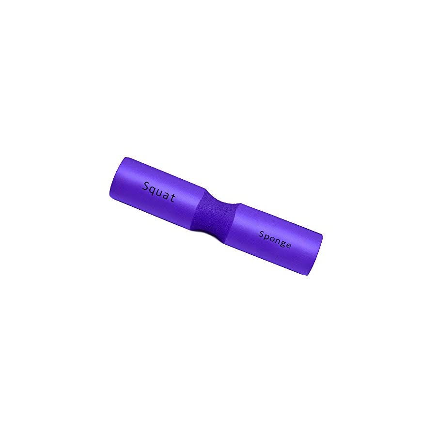 "Squat Sponge 18""long Purple, 3.5"" diameter & 1.25""thick Olympic Barbell Pad"