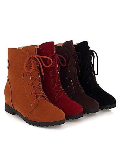 Yellow Yellow occasionale da Xzz Scarpe Boots e donna Cn34 Eu35 Platform us5 lavoro Brown Outdoor Red Comfort Black Fashionable Ufficio Uk3 qavwqp